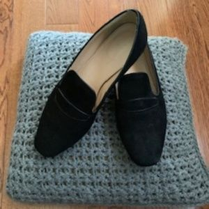 Great J.Crew suede loafers